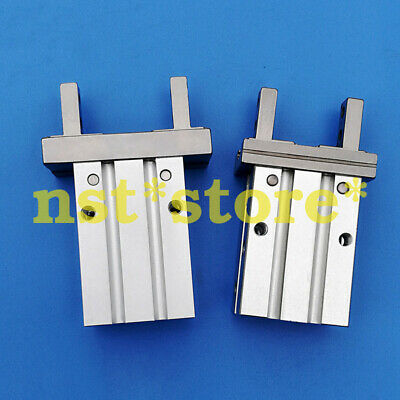 Double acting parallel pneumatic clamping cylinder Smc finger cylinder MHZ2-16D