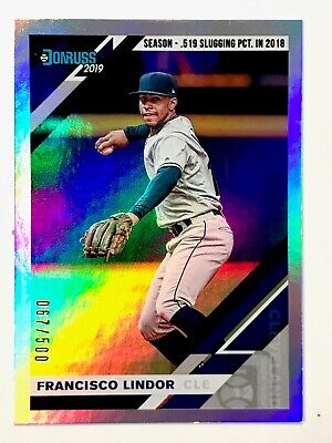 2019 Donruss - SEASON / CAREER STAT LINE Parallels - U-Pick to complete your set