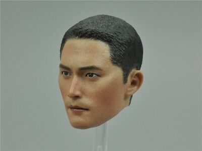 Head Sculpt for DAM 78053 Snow Leopard Commando Unit Team Leader 1/6 Scale 12''