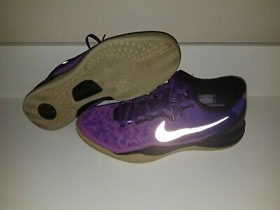 outlet store sale e8c49 d9de7 Nike Kobe 8 System Court Playoff Purple Basketball Shoes Sz 12 Purple  555035-500
