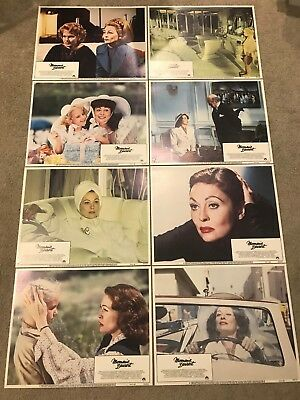 Original Lobby Card Set (8) 11x14: Mommie Dearest (1981) Fay Dunnaway
