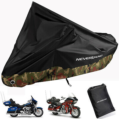XXXL Waterproof Motorcycle Cover For Harley-Davidson Road King Glide FLHR FLHX