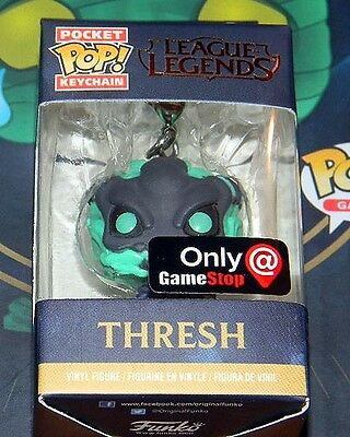 New~Funko Pop Keychain~ THRESH ~League of Legend Collectors ~ GAMESTOP EXCLUSIVE