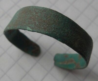 Viking period bronze cut ring big size