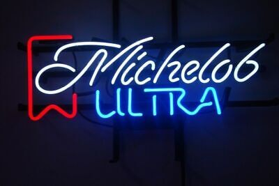 New Michelob Ultra Beer Man Cave Neon Light Sign17''x14''