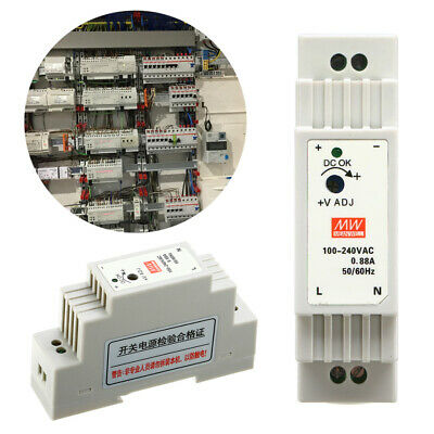 DR-15-12 15W 0.55A LED Power Industrial DIN Rail Switching Power Supply 12V