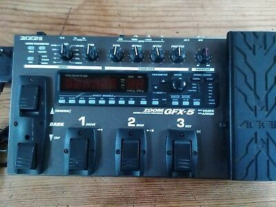 ZOOM GFX-5 MULTI Effects pedal Good Condition