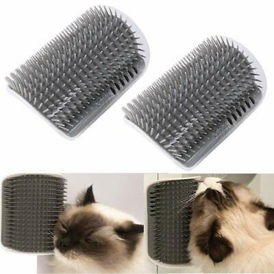 Pet Cat Brush Massage Perfect Tool for Cats Fur Cat Self Groomer with Catnip
