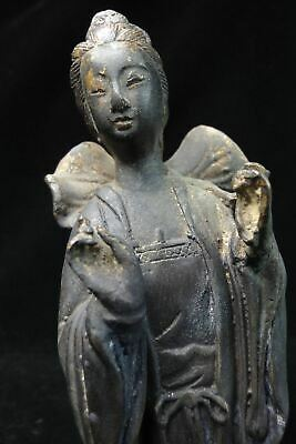 "Unique Large Old Chinese Bronze ""GuanYin"" Buddha Statue Sculpture ""YongLe"" Mark"