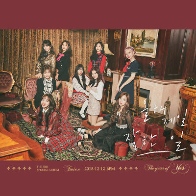 [Kpop Republic] Twice 3Rd Special Album 'The Year Of Yes' + Poster (B)