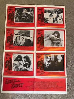 ORIGINAL 1-SHEET POSTER 27x41: Lust in the Dust (1985) Tab Hunter, Lainie Kazan