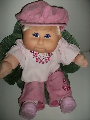 Cabbage Patch Girl Doll TRU 1st Edition 2001. Blonde Hair, Blue Eyes.