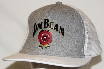 Collectible Jim Beam Since 1795 Peaked Hat/cap - Excellent