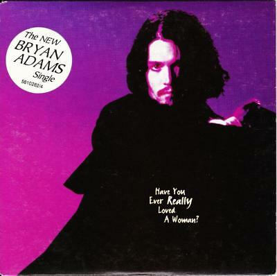 Bryan Adams Have You Really Loved A Woman 2 Track Card Sleeve Cd - Exc - Vgc