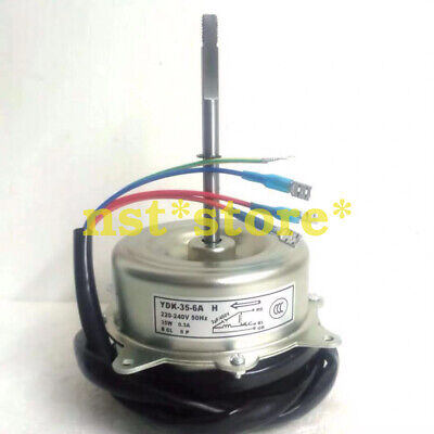 For Chigo air conditioner outside copper wire long shaft motor YDK-35-6A H