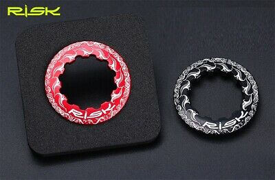 RISK Aluminum Lockring Mountain MTB XC Road Bike Cassette cogs Lock Ring 11T 6g