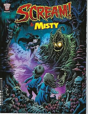 Scream & Misty Halloween Special (2000 Ad Rebellion Mags, 2018) Nm New