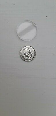 """2018 Uncirculated Alphabet 10P Coin Letter """"O"""" In A Capsule."""