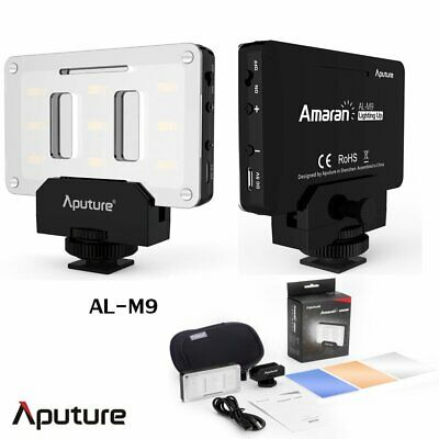 Aputure AL-M9 small pocket size LED fill light video / rechargeable in battery