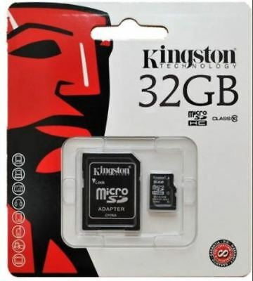 New Kingston 80MB/s 32GB Micro SD SDHC UHS-I Class10 Memory Card