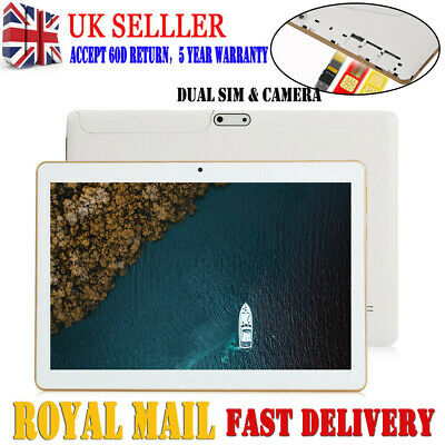 "10.1"" Android Tablet HD PC 64G Octa-Core 6.0 Dual SIM& Camera Wifi Phone Phablet"