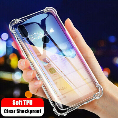 For Samsung Galaxy A70 A50 A40 A20E Clear Slim Soft TPU Silicone Back Case Cover