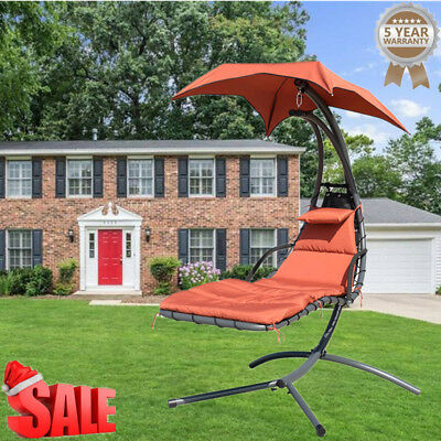 2019!Garden Swing Hammock Helicopter Dream Hanging Chaise Beach Seat Outdoor