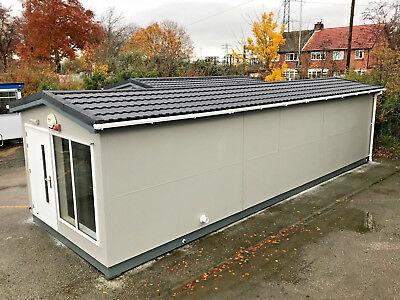 36ft x 12ft - Changing Room | Modular Building |12 x Person Shower Block |Toilet