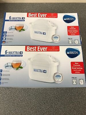 Brita Maxtra + Plus Filter Cartridge - 12 Pack (UK VERSION) - FREE UK POSTAGE