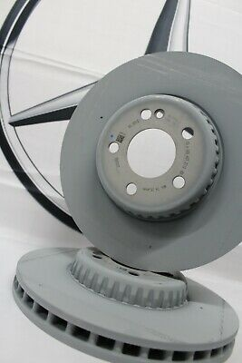 Genuine Mercedes-Benz W213 E-Class FRONT Solid Brake Discs A0004212712 NEW