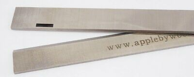 Multico 9 1/4 inch Slotted HSS Resharpenable Planer Blades 1 Pair