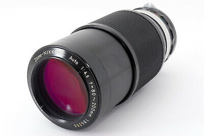 【EXC+++】Nikon Nikkor C Auto Non Ai 80-200mm f/4.5 Zoom Lens From Japan #752