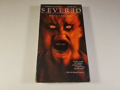 Severed VHS 2001 GOOD condition