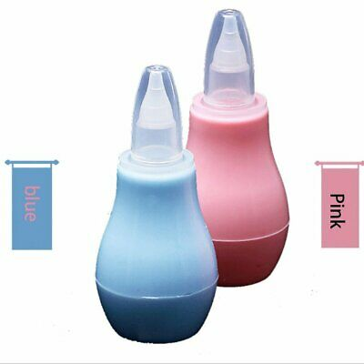 Baby Children Nose Aspirator Toddler Nose Cleaner Infant Snot Vacuum Sucker AZ