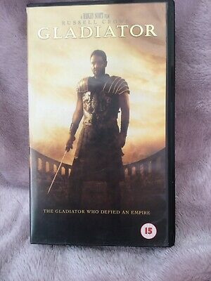 Gladiator Video Vhs/sur 2003 Russell Crowe