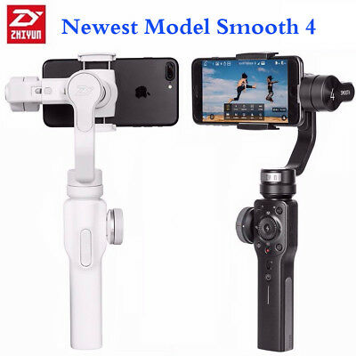 ZhiYun Smooth 4 3-Axis Handheld Gimbal Stabilizer for Phone Samsung Updated Q