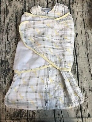 promo code bbdd3 76d29 HALO-100-COTTON-MUSLIN-SLEEPSACK-SWADDLE-GIRAFFE-PLAID-NEWBORN