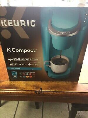 Keurig K Compact Single Serve Coffee Maker Turquoise 5500