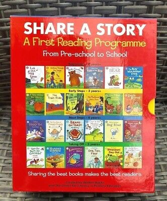 Share A Story First Reading Programme From Pre-School To School 24 Books Box Set