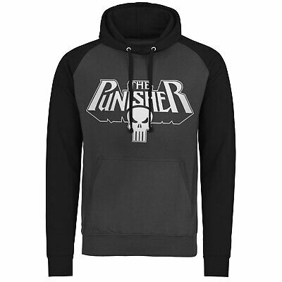Licence Officielle Marvel - The Punisher Logo Baseball Capuche S-XXL Tailles