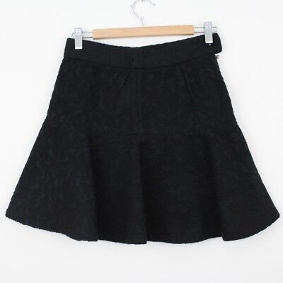 a6ce293e WOMENS ZARA FLORAL embroidered zip up mini skirt Size XS - $35.00 ...