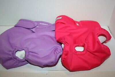 Wegreeco LARGE Washable Reusable Dog Diapers - Several Options!!