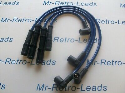 Blue 8Mm Performance Ignition Leads For  Punto Mk2 1999-05 8V 1.1 1.2 Twin Coil