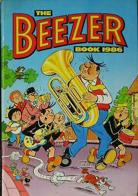 No stated author, THE BEEZER BOOK 1986, Hardcover, Very Good Book