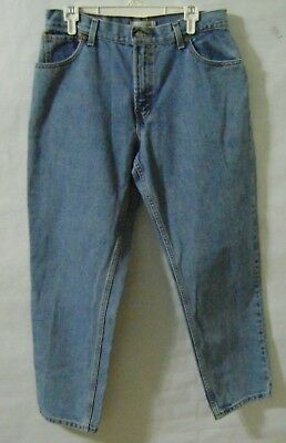 6e5aed34 Vintage 80s Levis 550 Relaxed Fit Tapered Leg Denim Jeans Womens Size 14 S  Short