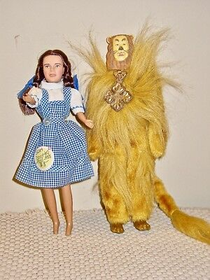 Wizard of Oz 50th Anniversary Multi Toys Co 1988 - Dorothy and Cowardly Lion