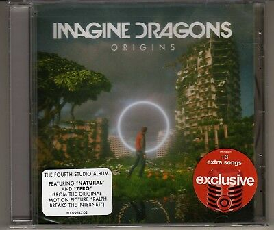 Imagine Dragons: Origins Cd Target Exclusive Brand New 3 Bonus Tracks