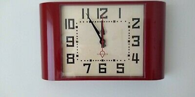 Newgate Large Wall Clock - Red _ Brand New