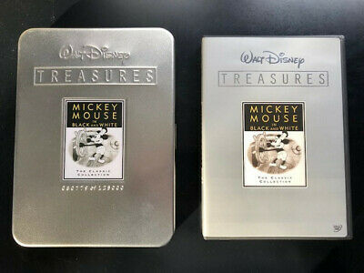 WALT DISNEY TREASURES MICKEY MOUSE IN BLACK AND WHITE LE DVD 2-Disc Set