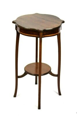 Antique Inlaid Mahogany Occasional Table - FREE Shipping [P4999]